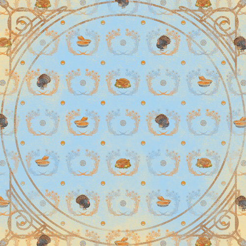 Karen Foster Design - Thanksgiving and Autumn Collection - 12 x 12 Paper - Family Feast