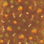 Karen Foster Design - Thanksgiving and Autumn Collection - 12 x 12 Paper - Bountiful Harvest
