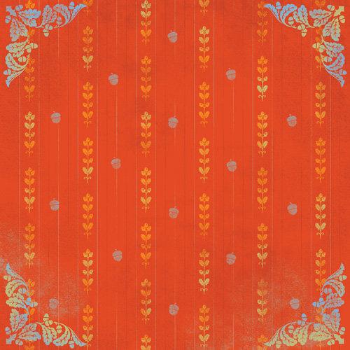 Karen Foster Design - Thanksgiving and Autumn Collection - 12 x 12 Paper - Autumn Nouveau