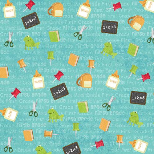 Karen Foster Design - Grade School Collection - 12 x 12 Paper - First Grade