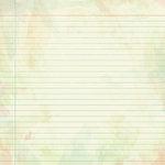 Karen Foster Design - Grade School Collection - 12 x 12 Paper - Practice Page
