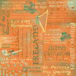 Karen Foster Design - St. Patrick's Day Collection - 12 x 12 Paper - Irish Pride Collage