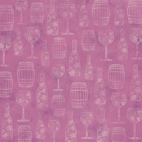 Karen Foster Design - Winery Collection - 12 x 12 Paper - Fine Wine