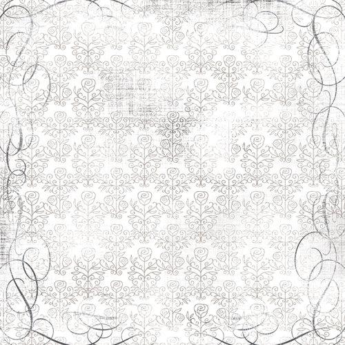 Karen Foster Design - Wedding Collection - 12 x 12 Paper - Rose Bouquet