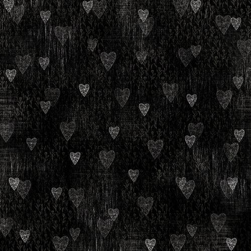 Karen Foster Design - Wedding Collection - 12 x 12 Paper - Beautiful Hearts