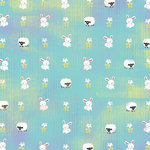 Karen Foster Design - Easter Collection - 12 x 12 Paper - Easter Friends