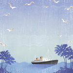 Karen Foster Design - Cruise Collection - 12 x 12 Paper - Let's Sail