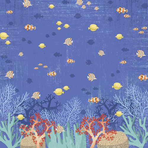 Karen Foster Design - Snorkeling Collection - 12 x 12 Paper - Underwater Adventure