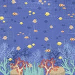 Karen Foster Design - Snorkeling Collection - 12 x 12 Paper - Underwater Adventure