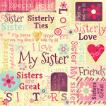 Karen Foster Design - Sisters Collection - 12 x 12 Paper - Sisters Are Special Collage