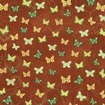 Karen Foster Design - Best Friends Collection - 12 x 12 Paper - Butterfly Garden