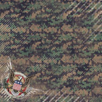 Karen Foster Design - Military Collection - 12 x 12 Paper - American Bravery