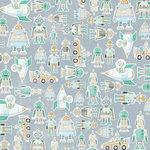 Karen Foster Design - Robots Collection - 12 x 12 Paper - Robots