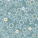 Karen Foster Design - Robots Collection - 12 x 12 Paper - Sprockets and Gears