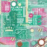 Karen Foster Design - Scrapbooking Collection - 12 x 12 Paper - Crafty Collage