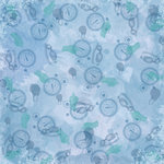 Karen Foster Design - Swimming Collection - 12 x 12 Paper - Lap Time