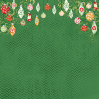 Karen Foster Design - Christmas Collection - 12 x 12 Paper - Ornaments