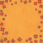 Karen Foster Design - Christmas Collection - 12 x 12 Paper - Poinsettias