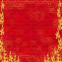 Karen Foster Design - Firefighter Collection - 12 x 12 Paper - Fire Engines