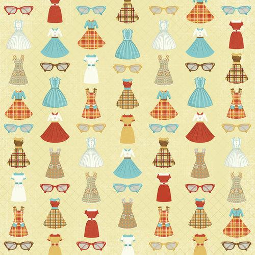 Karen Foster Design - Grandma Collection - 12 x 12 Paper - Grandma's Closet
