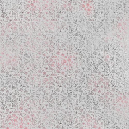 Karen Foster Design - Valentine's Day Collection - 12 x 12 Paper - Flowers Of Love