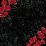 Karen Foster Design - Valentine's Day Collection - 12 x 12 Paper - Roses