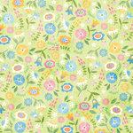 Karen Foster Design - Easter Collection - 12 x 12 Paper - Easter Blooms