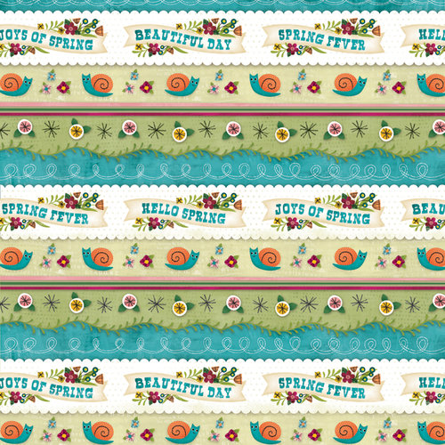 Karen Foster Design - Spring Collection - 12 x 12 Paper - Joys Of Spring