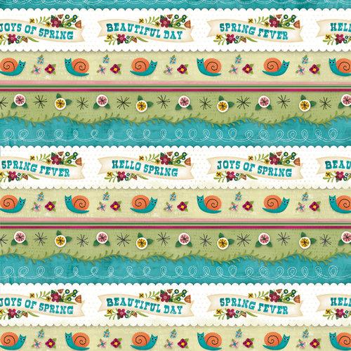 Karen Foster Design - Spring Collection - 12 x 12 Paper - Joys Of Spring