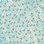 Karen Foster Design - Spring Collection - 12 x 12 Paper - Spring Birds and Flowers