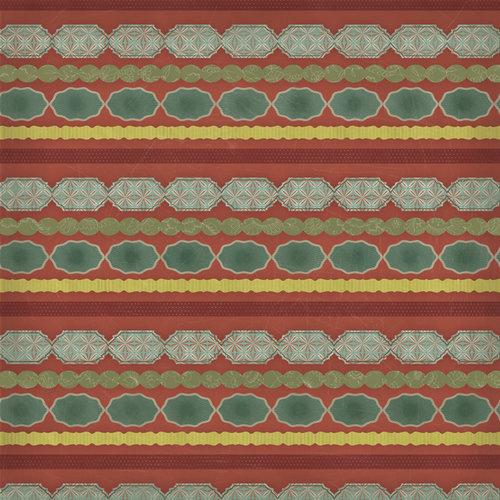 Karen Foster Design - In Memory Collection - 12 x 12 Paper - Memory Stripe