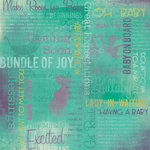 Karen Foster Design - Maternity Collection - 12 x 12 Paper - Coming Soon Collage
