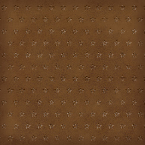 Karen Foster Design - Cowboy Horse Collection - 12 x 12 Paper - Textured Leather