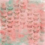 Karen Foster Design - Spring Collection - 12 x 12 Paper - Colorful Butterflies