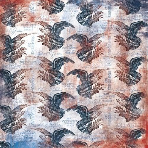 Karen Foster Design - Patriotic Collection - 12 x 12 Paper - Liberty and Justice