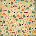 Karen Foster Design - Camping Collection - 12 x 12 Paper - Campsites