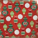 Karen Foster Design - Christmas Collection - 12 x 12 Paper - Christmas Ornaments