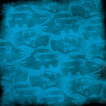 Karen Foster Design - Off Road Collection - 12 x 12 Paper - Trucks