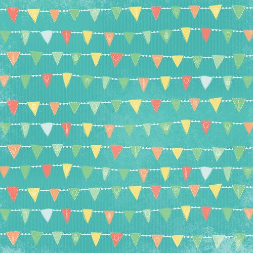 Karen Foster Design - Birthday Collection - 12 x 12 Paper - A Banner Year