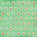 Karen Foster Design - Birthday Collection - 12 x 12 Paper - Cozy Cupcakes