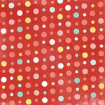 Karen Foster Design - Birthday Collection - 12 x 12 Paper - Party Polkadots