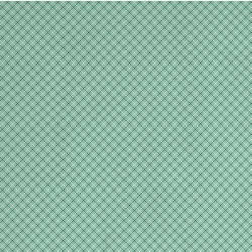 Karen Foster Design - Travel Collection - 12 x 12 Paper - Travel Plaid
