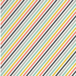 Karen Foster Design - Travel Collection - 12 x 12 Paper - Travel Stripe