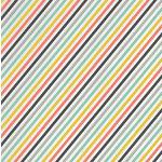 Karen Foster Design - Travel Collection - 12 x 12 Paper - Travel Stripe