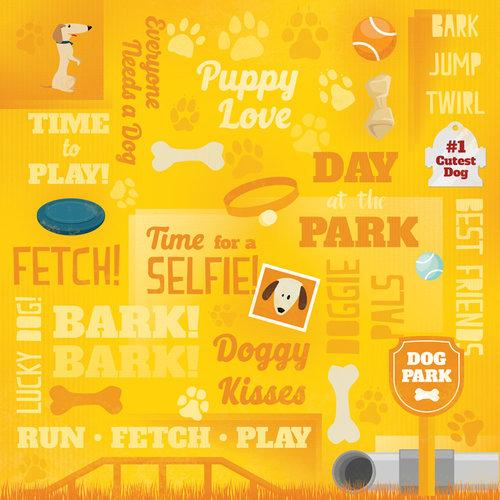 Karen Foster Design - Dog Collection - 12 x 12 Paper - Puppy Love Collage