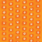 Karen Foster Design - Dog Collection - 12 x 12 Paper - Paw Prints