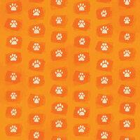 Karen Foster Design - Dog Collection - 12 x 12 Paper - Paw Prints