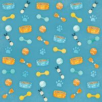 Karen Foster Design - Dog Collection - 12 x 12 Paper - Food and Fun