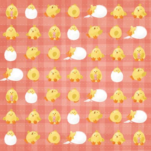 Karen Foster Design - Easter Collection - 12 x 12 Paper - Easter Chicks