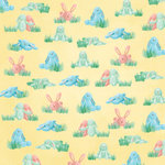 Karen Foster Design - Easter Collection - 12 x 12 Paper - Stuffed Bunnies